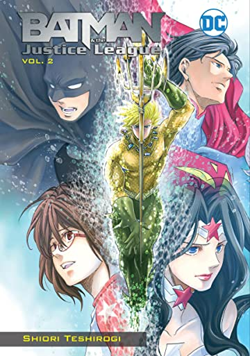 Batman and the Justice League Manga Vol. 2