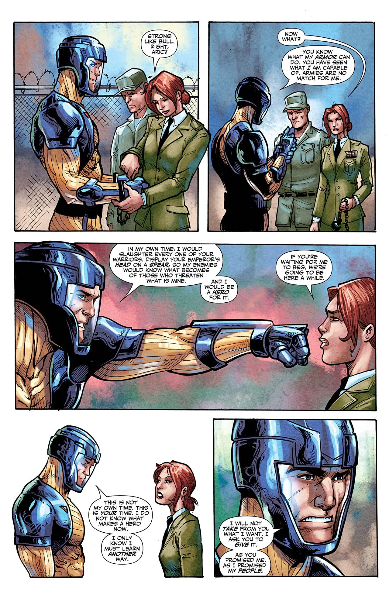 X-O Manowar (2012- ) #22: Digital Exclusives Edition