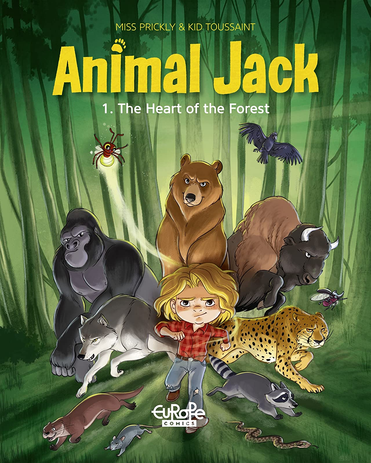Animal Jack Vol. 1: The Heart of the Forest