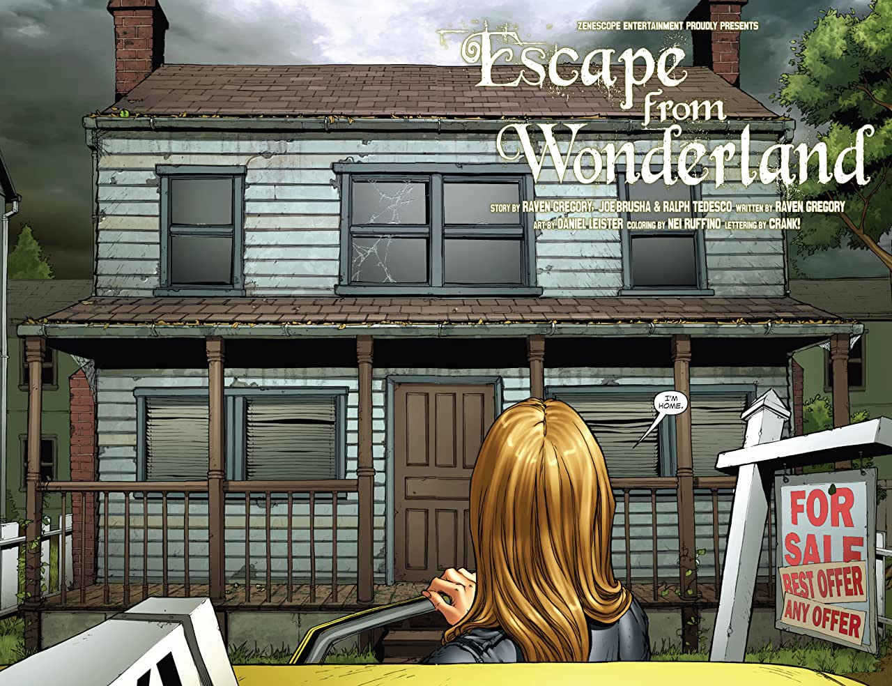 Escape From Wonderland #0 (of 6)