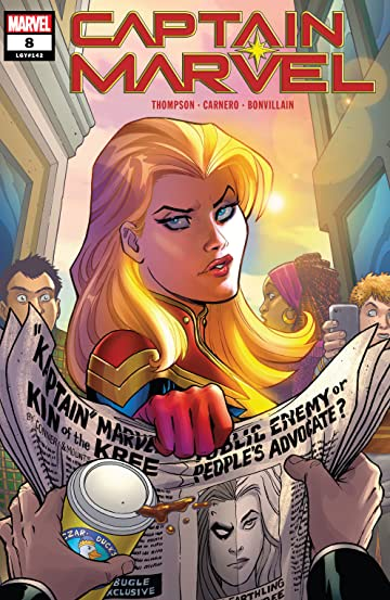 Captain Marvel (2019-) #8