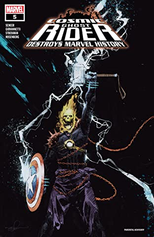Cosmic Ghost Rider Destroys Marvel History (2019) No.5 (sur 6)