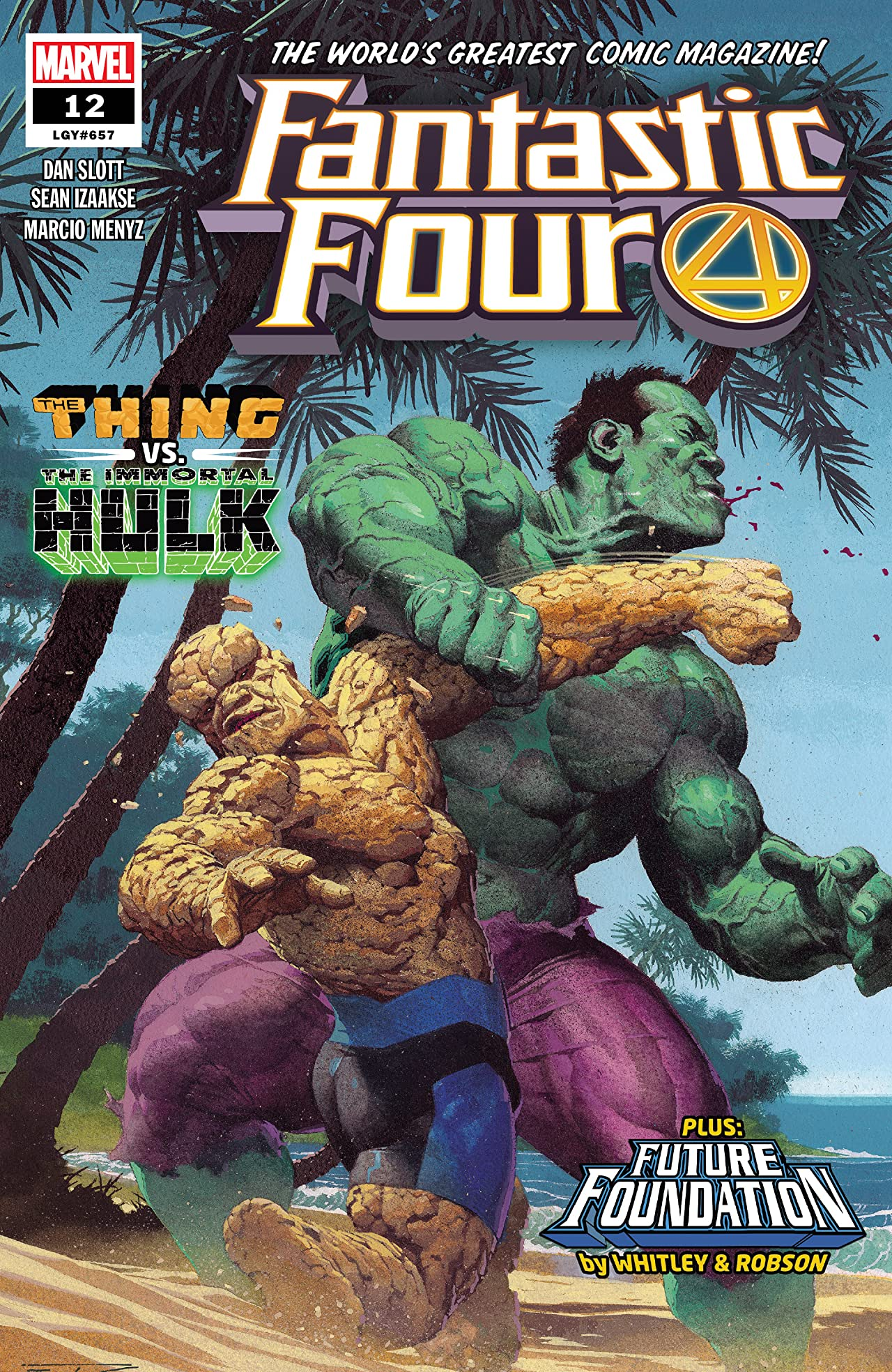 Fantastic Four (2018-) No.12