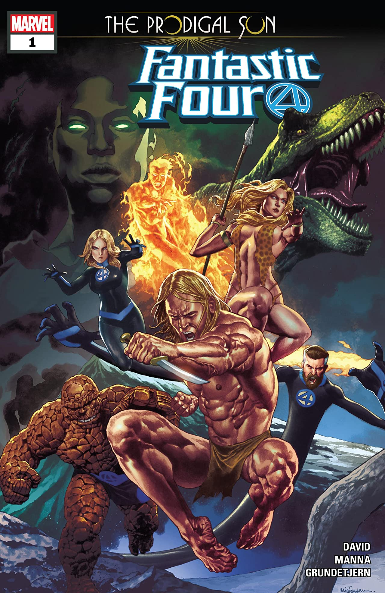 Fantastic Four: The Prodigal Sun (2019) No.1