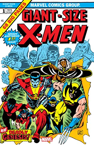 Giant-Size X-Men (1975) #1: Facsimile Edition