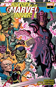 History Of The Marvel Universe (2019) #1 (of 6)