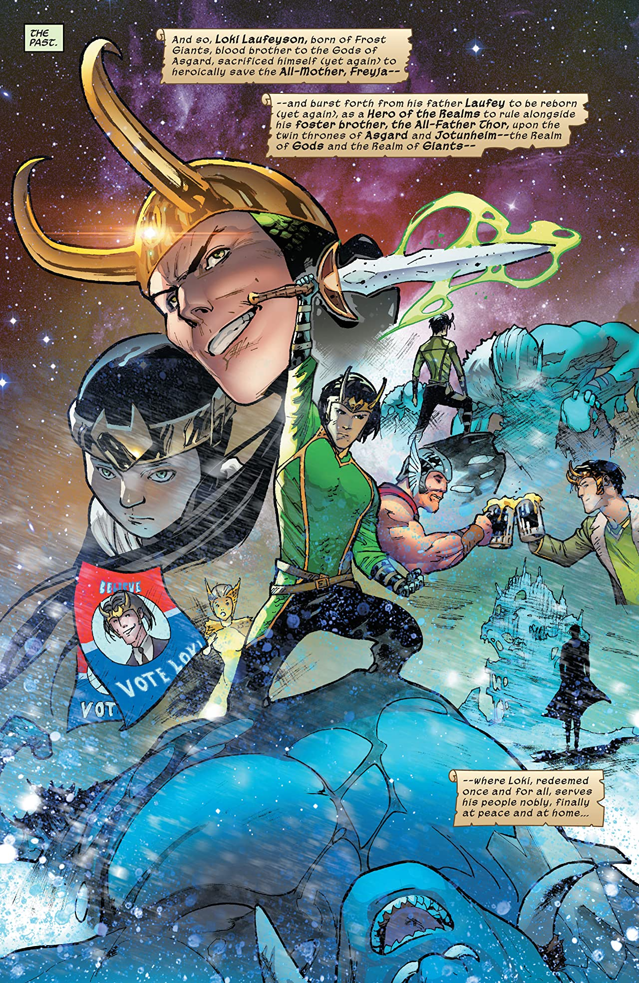 Loki (2019) No.1