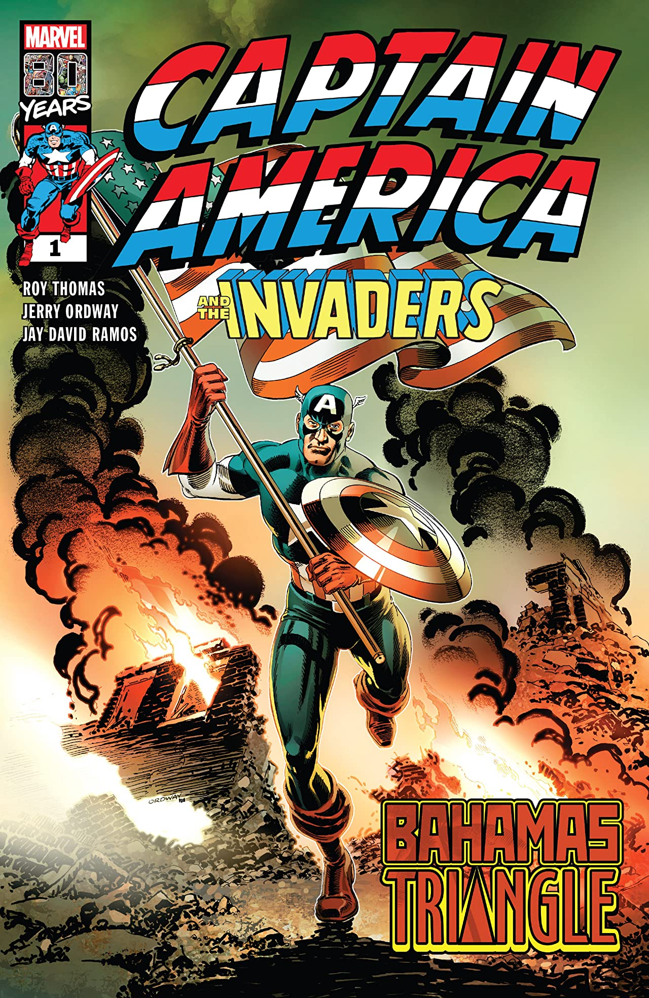 Captain America & The Invaders: The Bahamas Triangle (2019) No.1