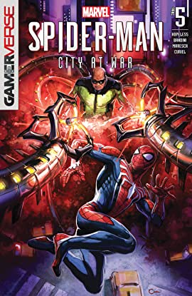 Marvel's Spider-Man: City At War (2019) #5 (of 6)