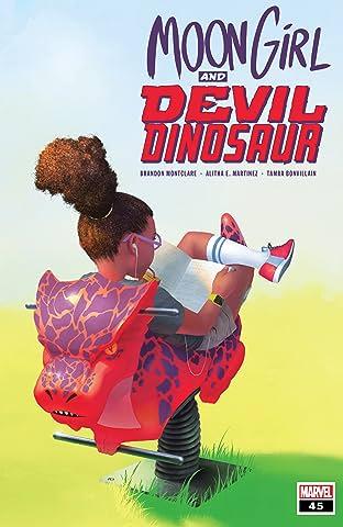 Moon Girl and Devil Dinosaur (2015-) #45
