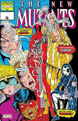New Mutants (1983-1991) #98: Facsimile Edition