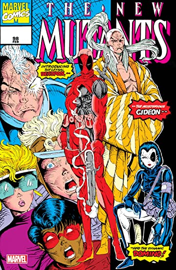 New Mutants (1983-1991) #98: Facsimile Edition