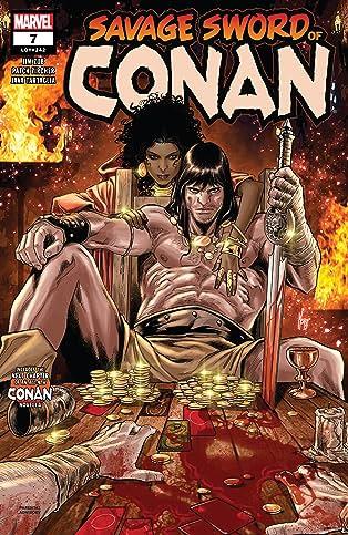 Savage Sword Of Conan (2019-) #7