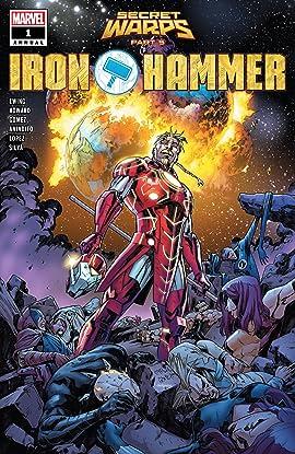 Secret Warps: Iron Hammer Annual (2019) #1