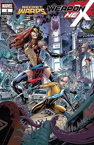 Secret Warps: Weapon Hex Annual (2019) #1