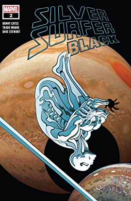 Silver Surfer: Black (2019-) #2 (of 5)