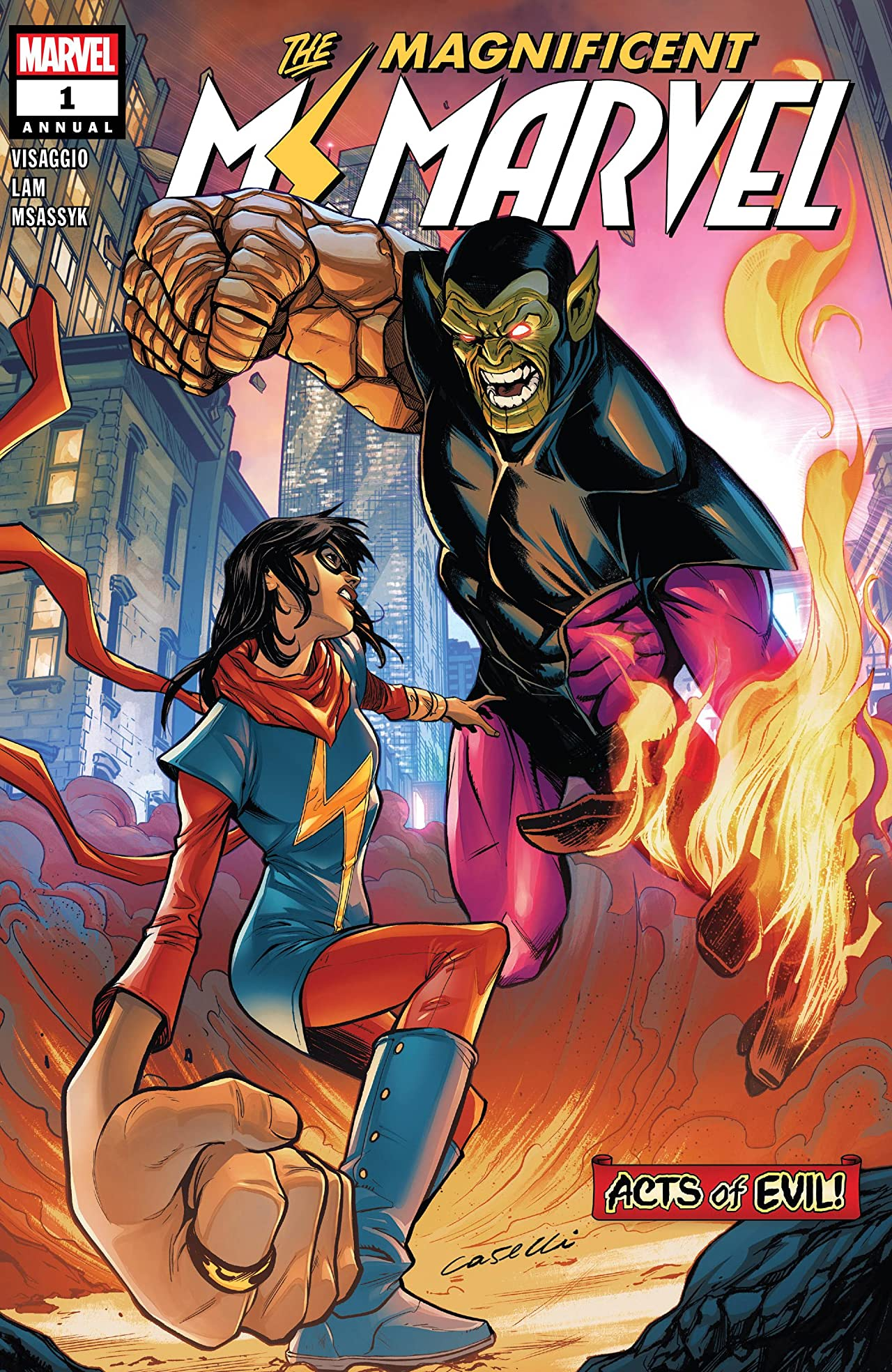 Ms. Marvel Annual (2019) #1