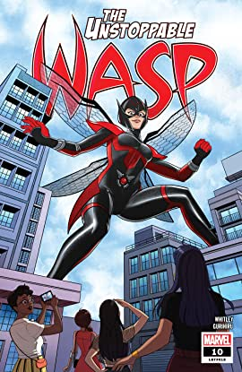 The Unstoppable Wasp (2018-2019) #10
