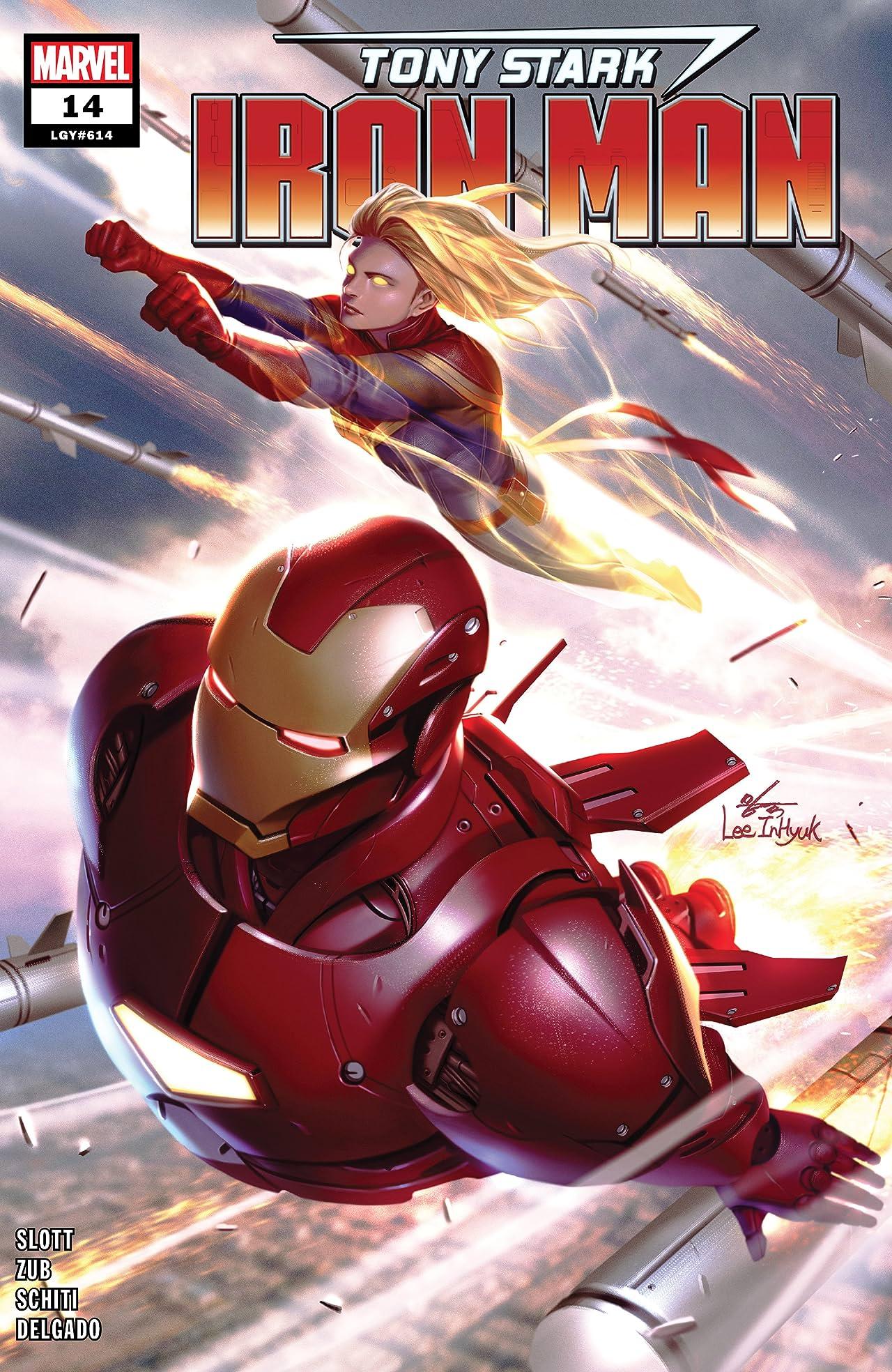 Tony Stark: Iron Man (2018-) No.14