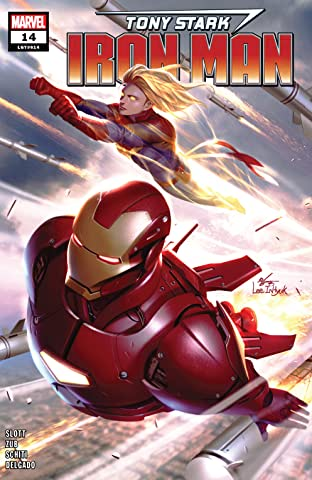 Tony Stark: Iron Man (2018-2019) #14