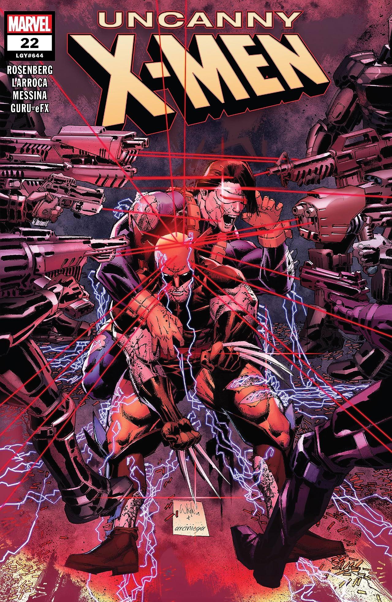 Uncanny X-Men (2018-) #22