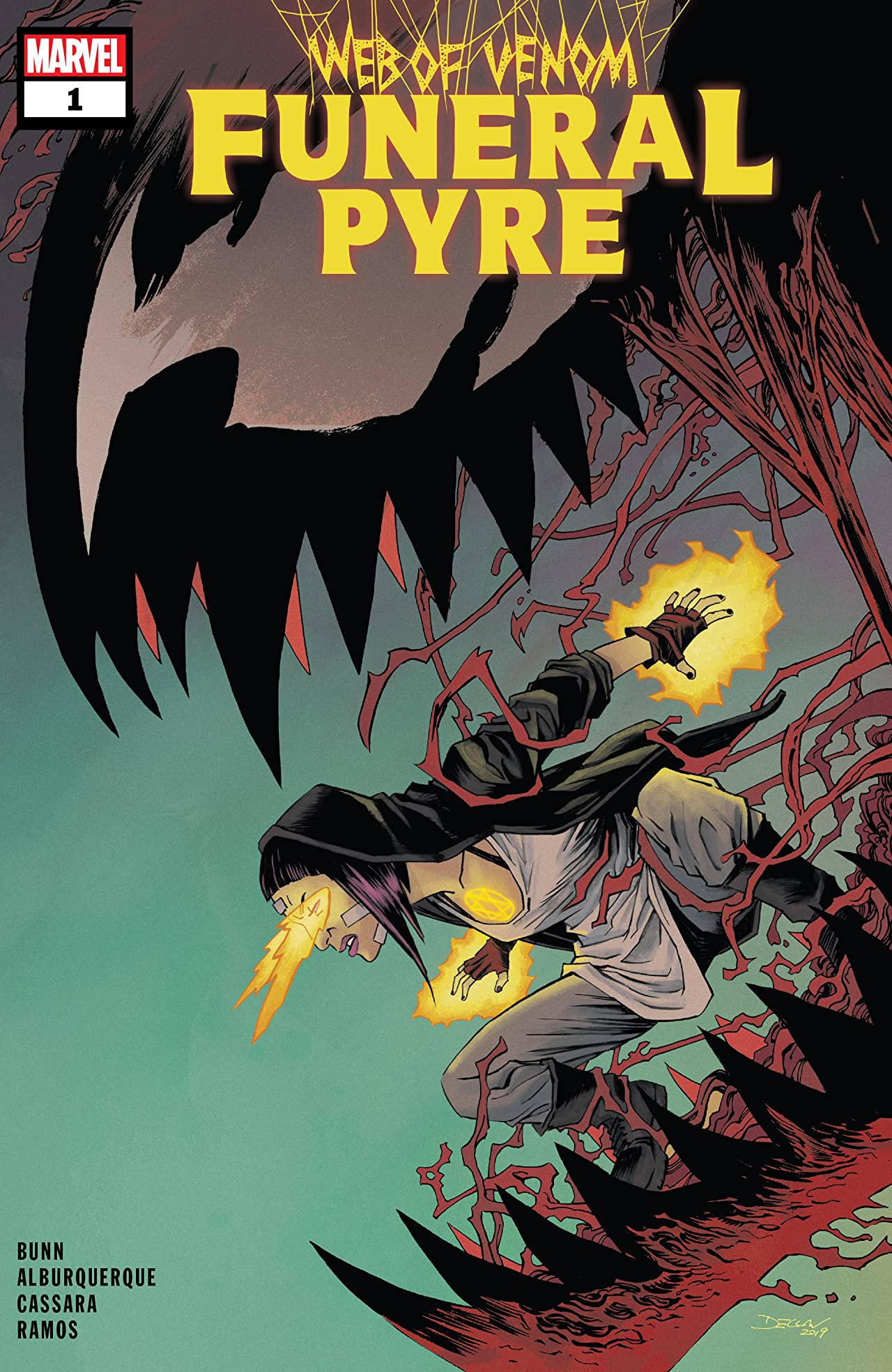 Web Of Venom: Funeral Pyre (2019) No.1