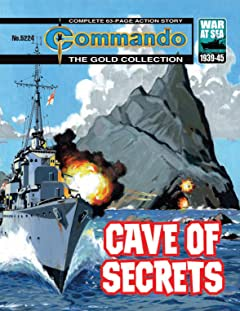 Commando #5224: Cave Of Secrets