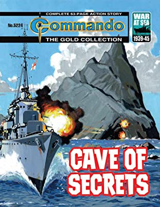 Commando No.5224: Cave Of Secrets