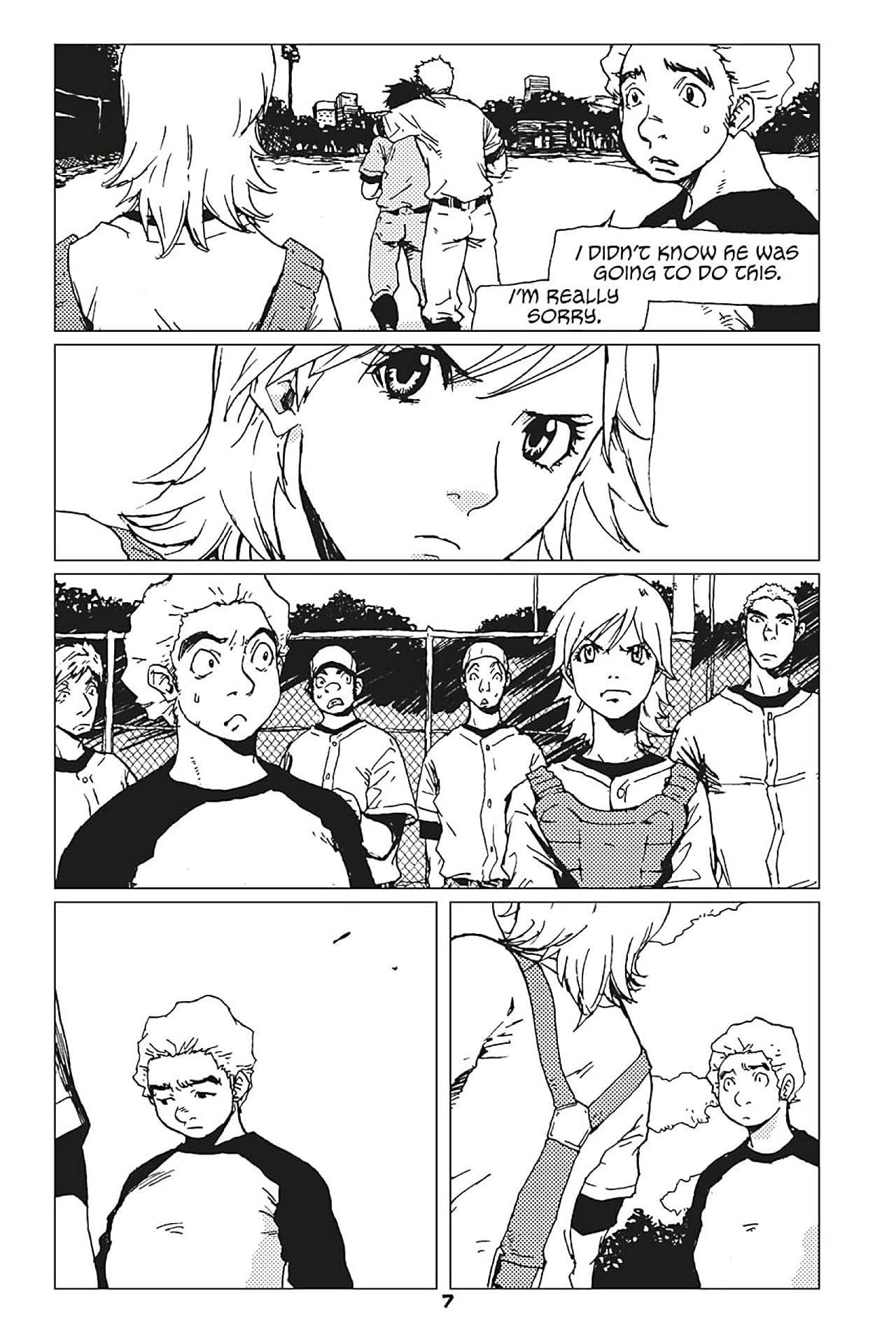 Boys of Summer manga Vol. 2