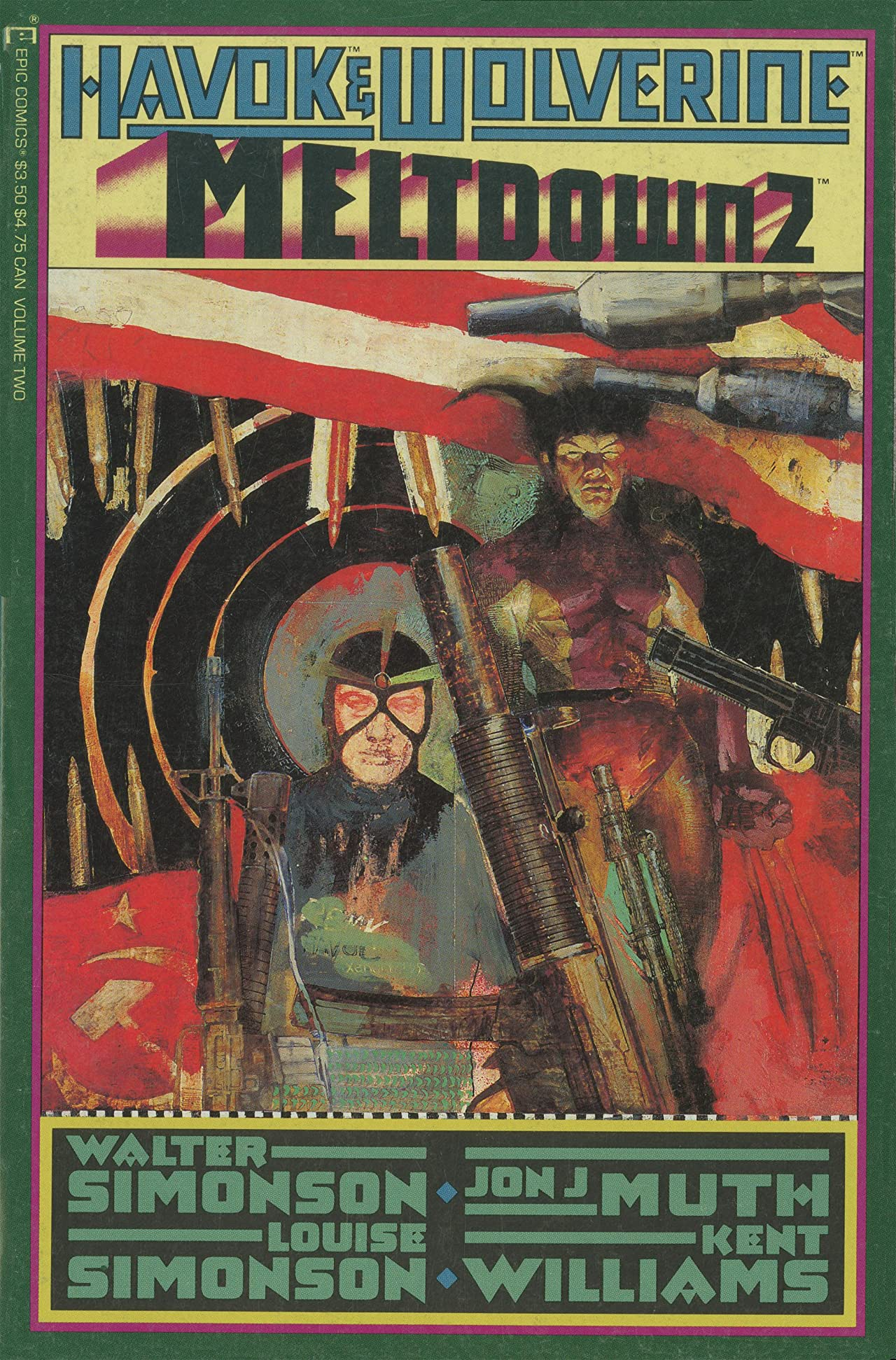 Havok and Wolverine: Meltdown (1988) #2 (of 4)