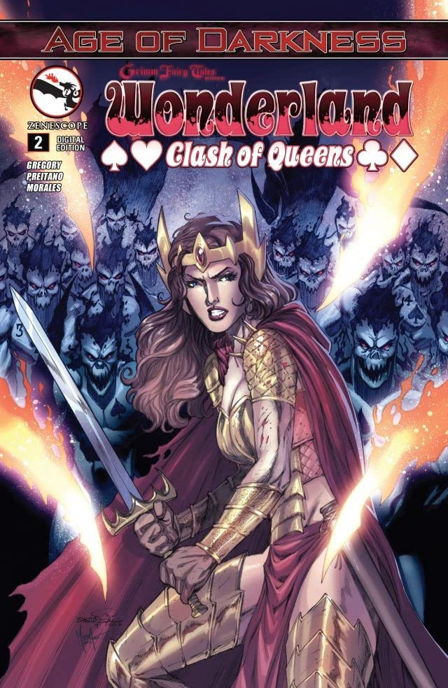 Wonderland: Clash of Queens #2 (of 5)