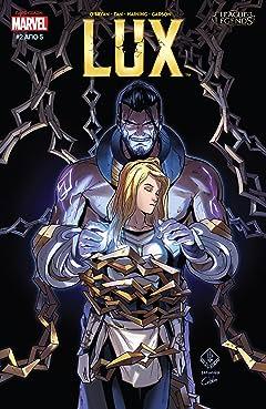 League Of Legends: Λουξ (Greek) #2 (of 5)