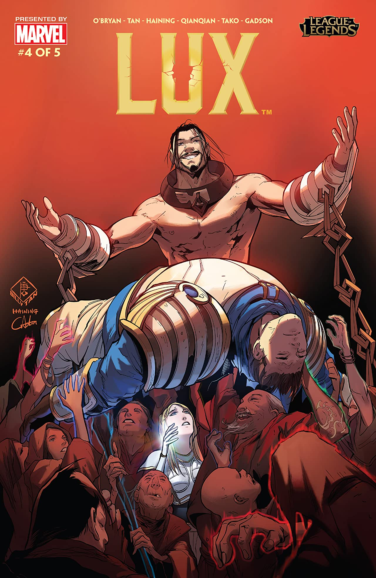 League Of Legends: Lux #4 (of 5)