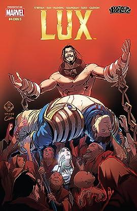 League Of Legends: Lux (Romanian) #4 (of 5)