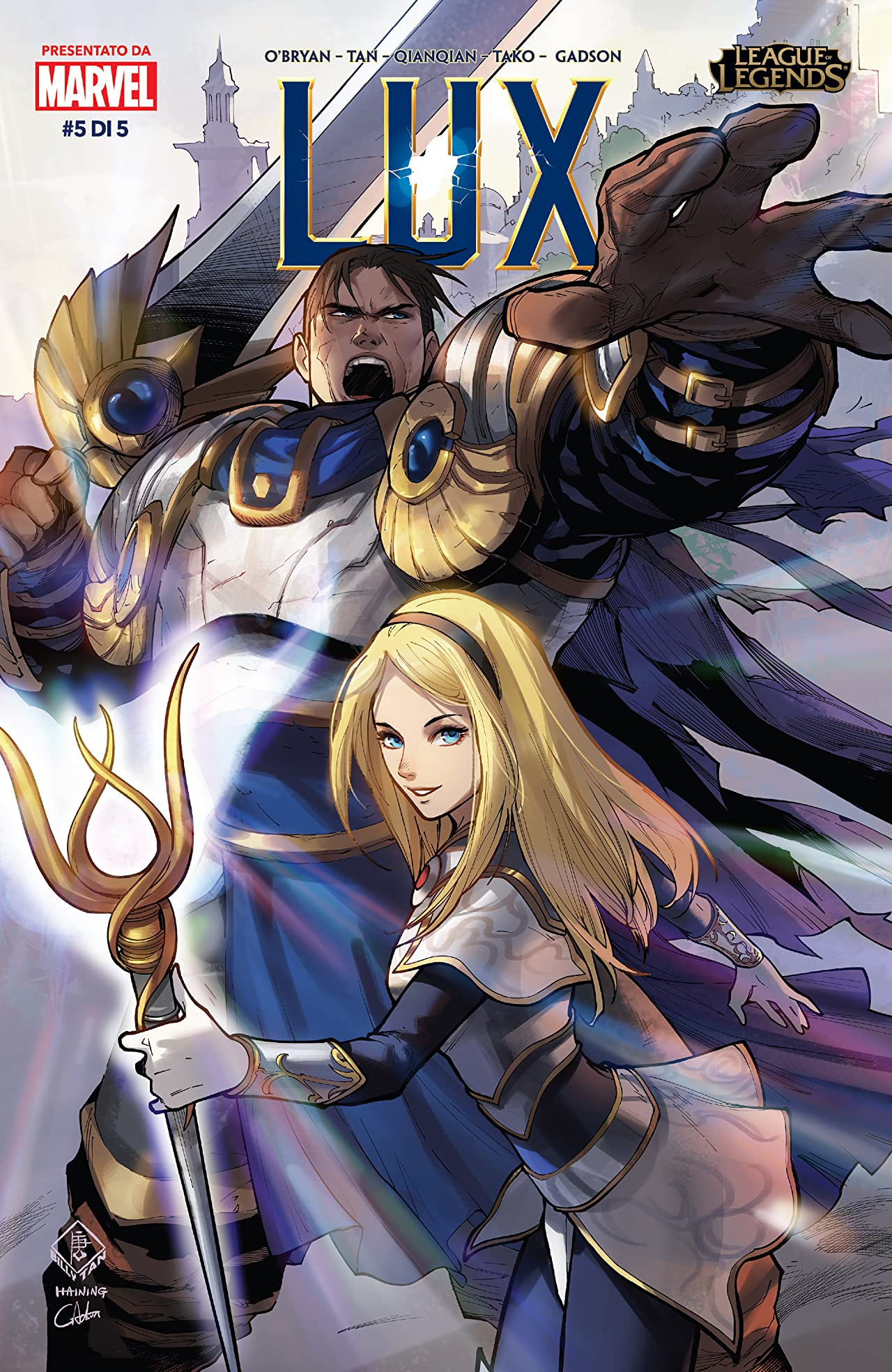 League Of Legends: Lux (Italian) No.5 (sur 5)