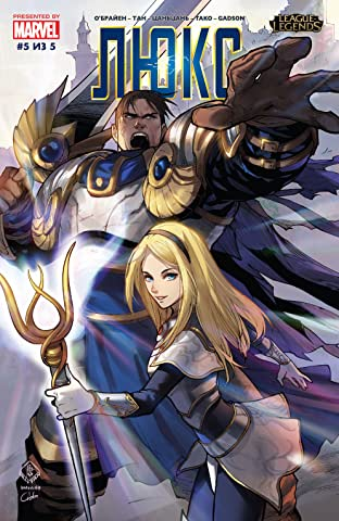 League Of Legends: Lux (Russian) No.5 (sur 5)
