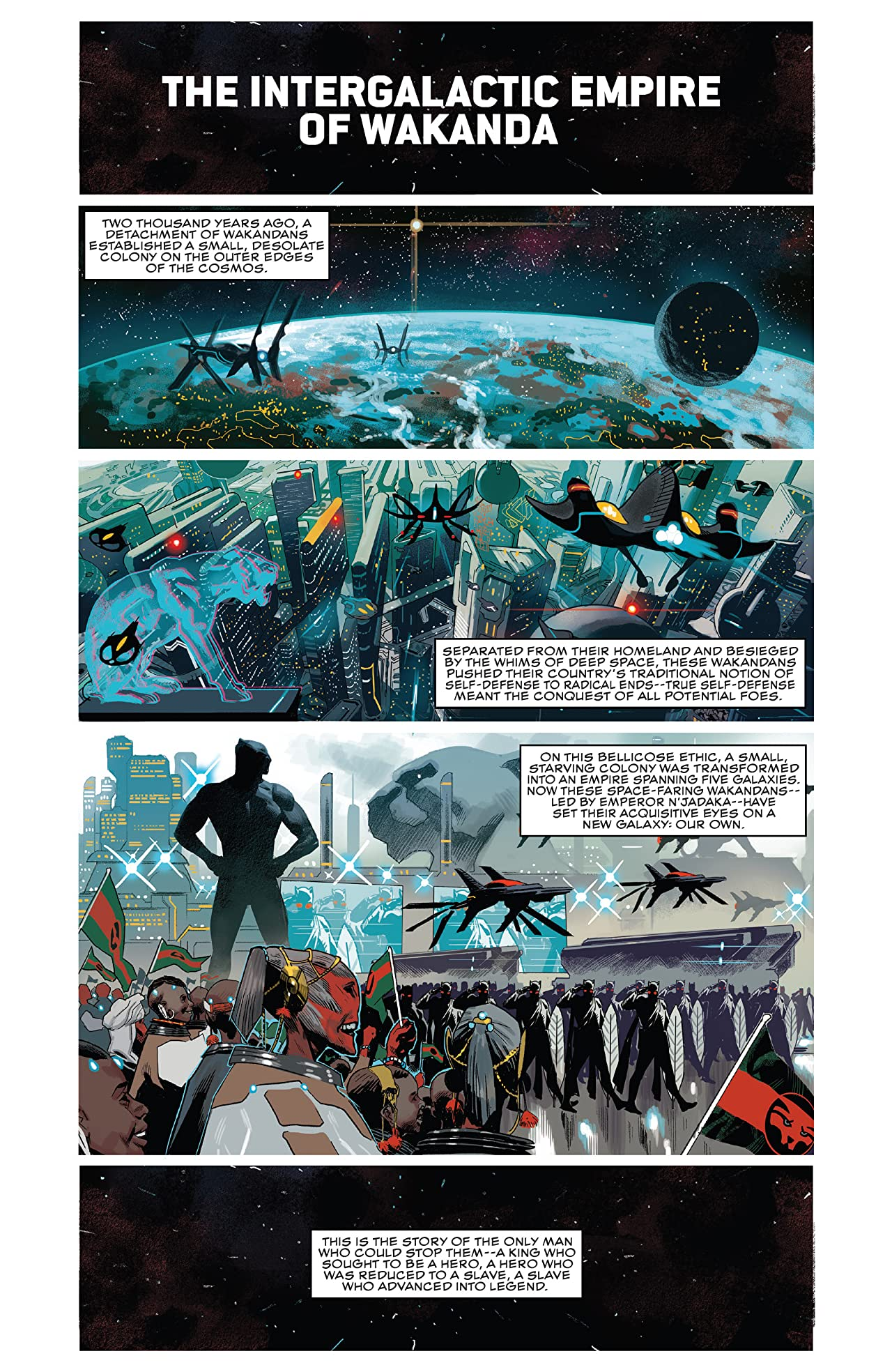 Black Panther Book 7: The Intergalactic Empire Of Wakanda Part Two
