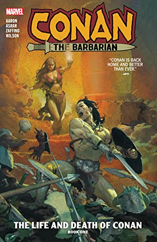 Conan The Barbarian Tome 1: The Life And Death Of Conan Book One