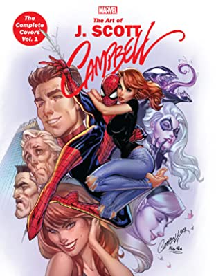 Marvel Monograph: J. Scott Campbell - The Complete Covers Tome 1