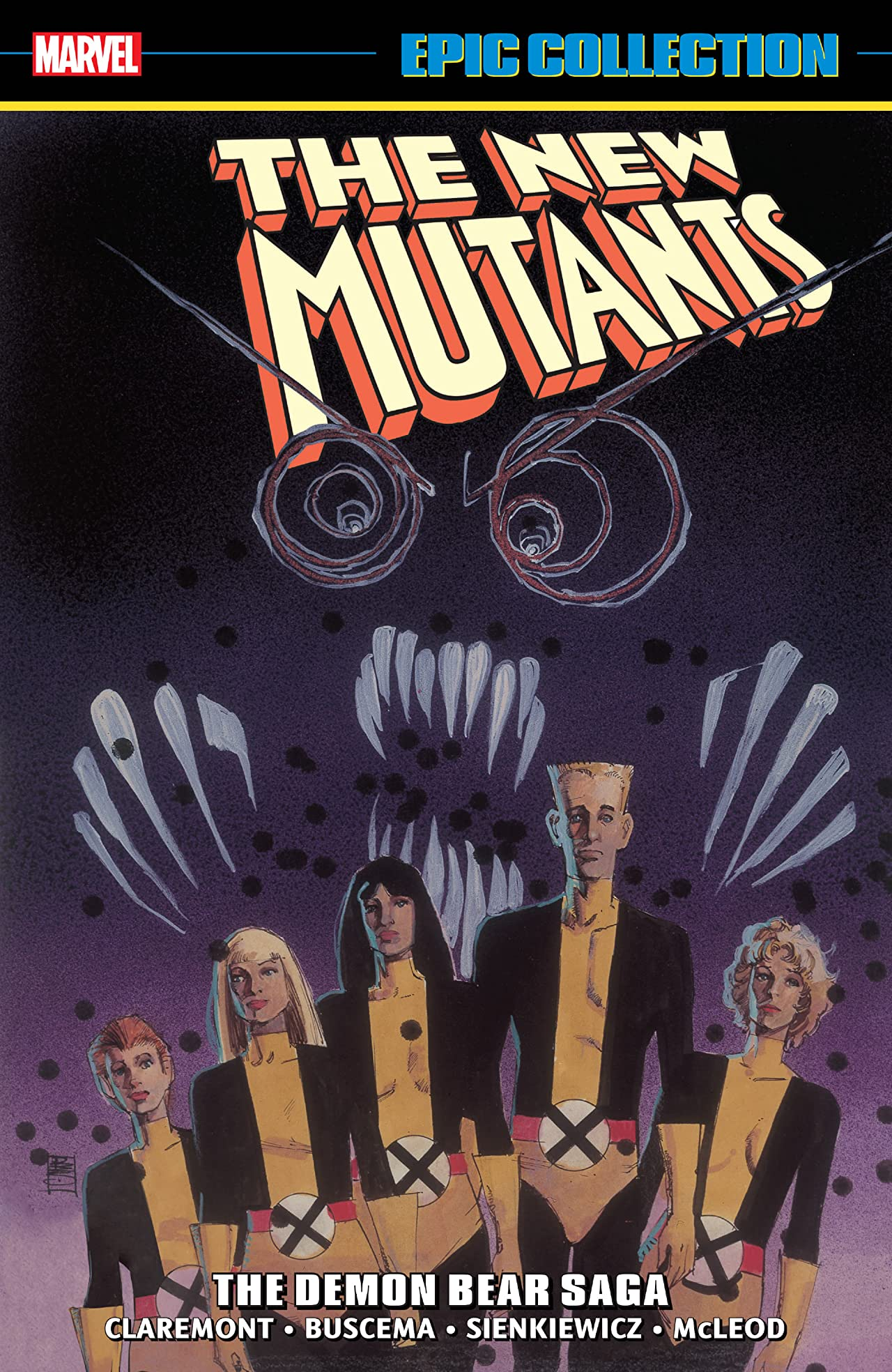 New Mutants Epic Collection: The Demon Bear Saga