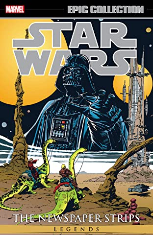 Star Wars Legends Epic Collection: The Newspaper Strips Tome 2