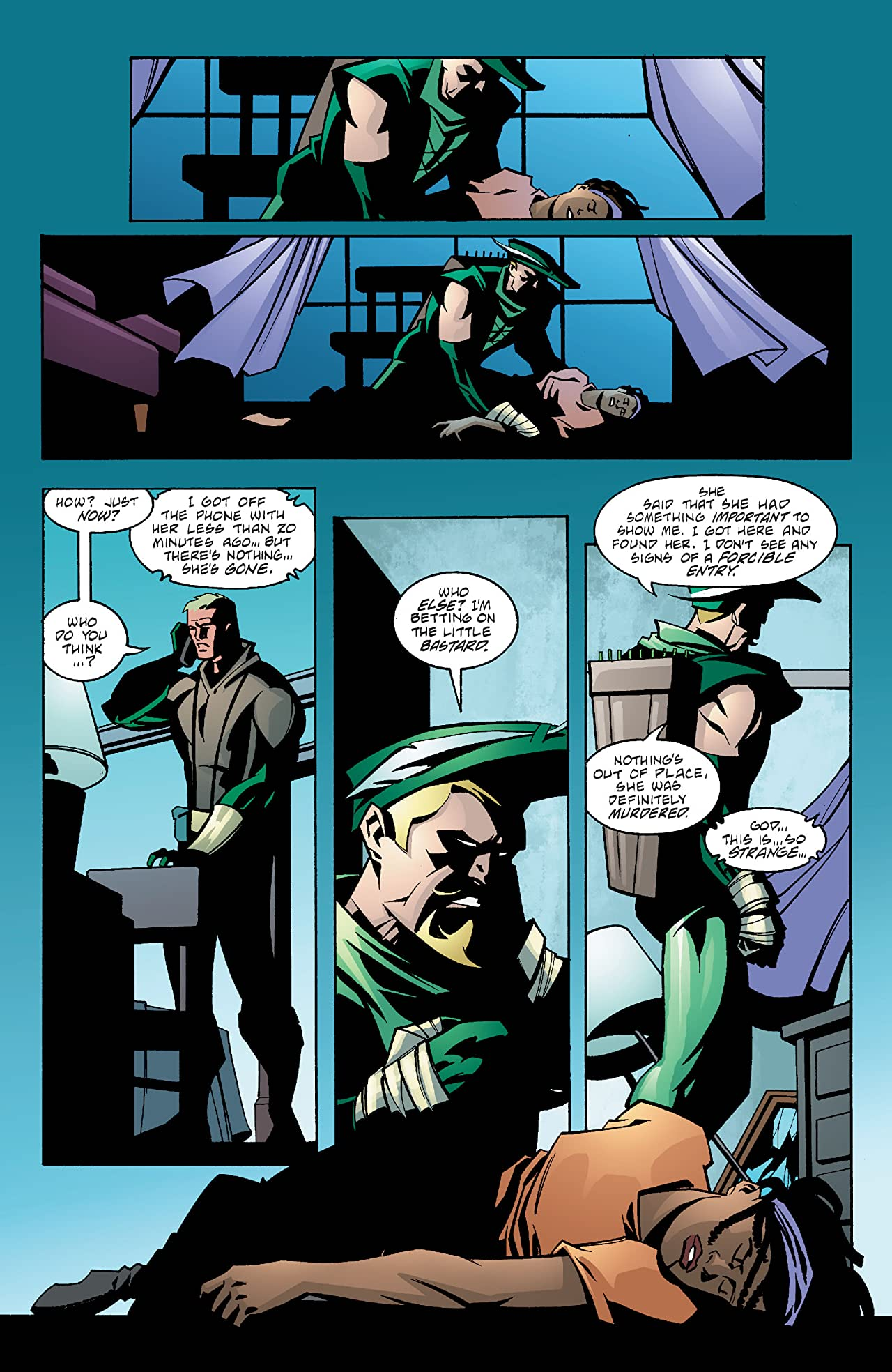 Green Arrow (2001-2007) #31