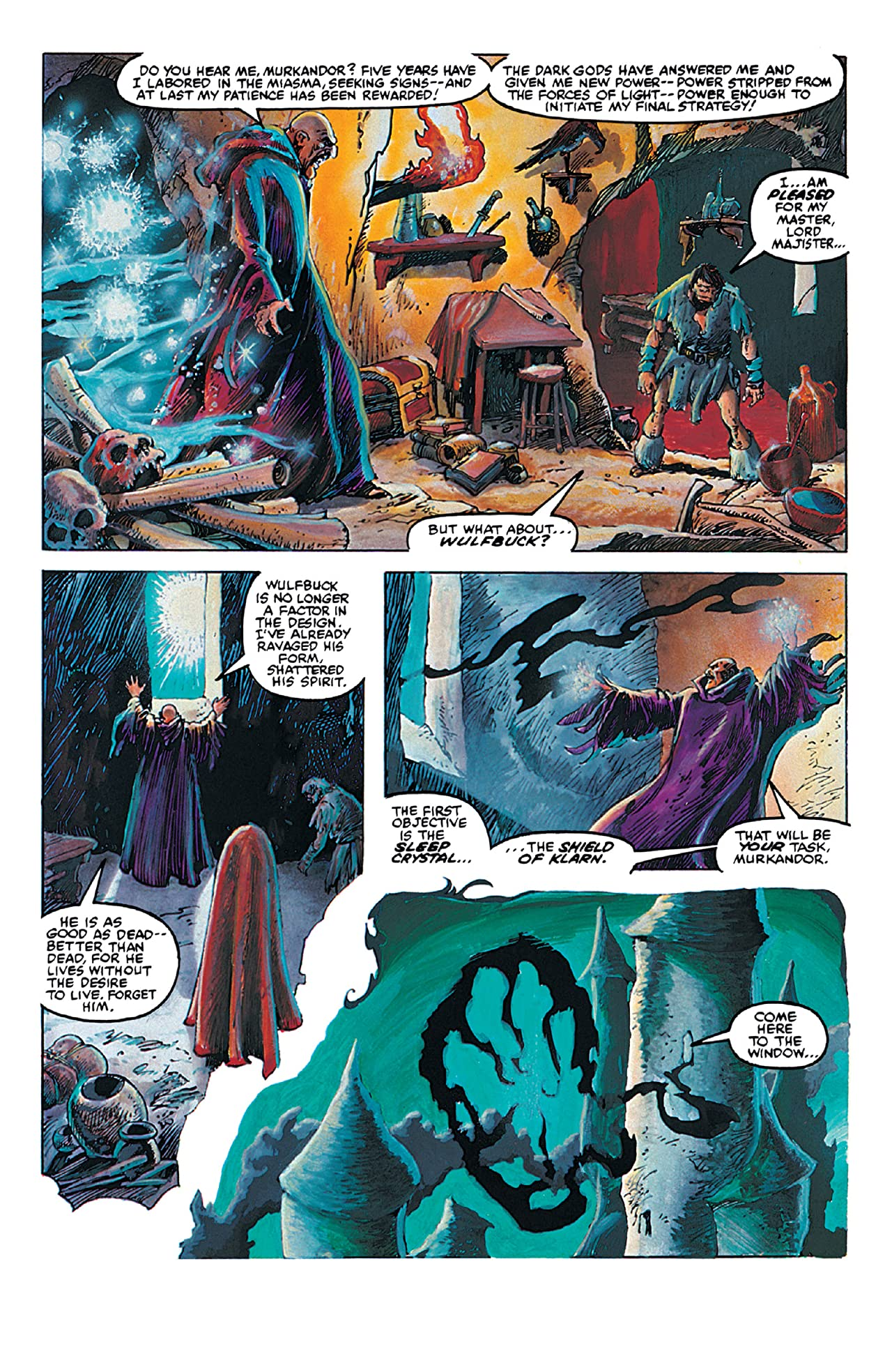 Weirdworld: The Dragonmaster Of Klarn