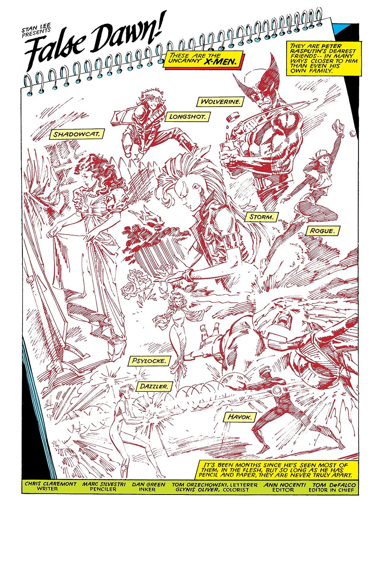 X-Men Milestones: Fall Of The Mutants