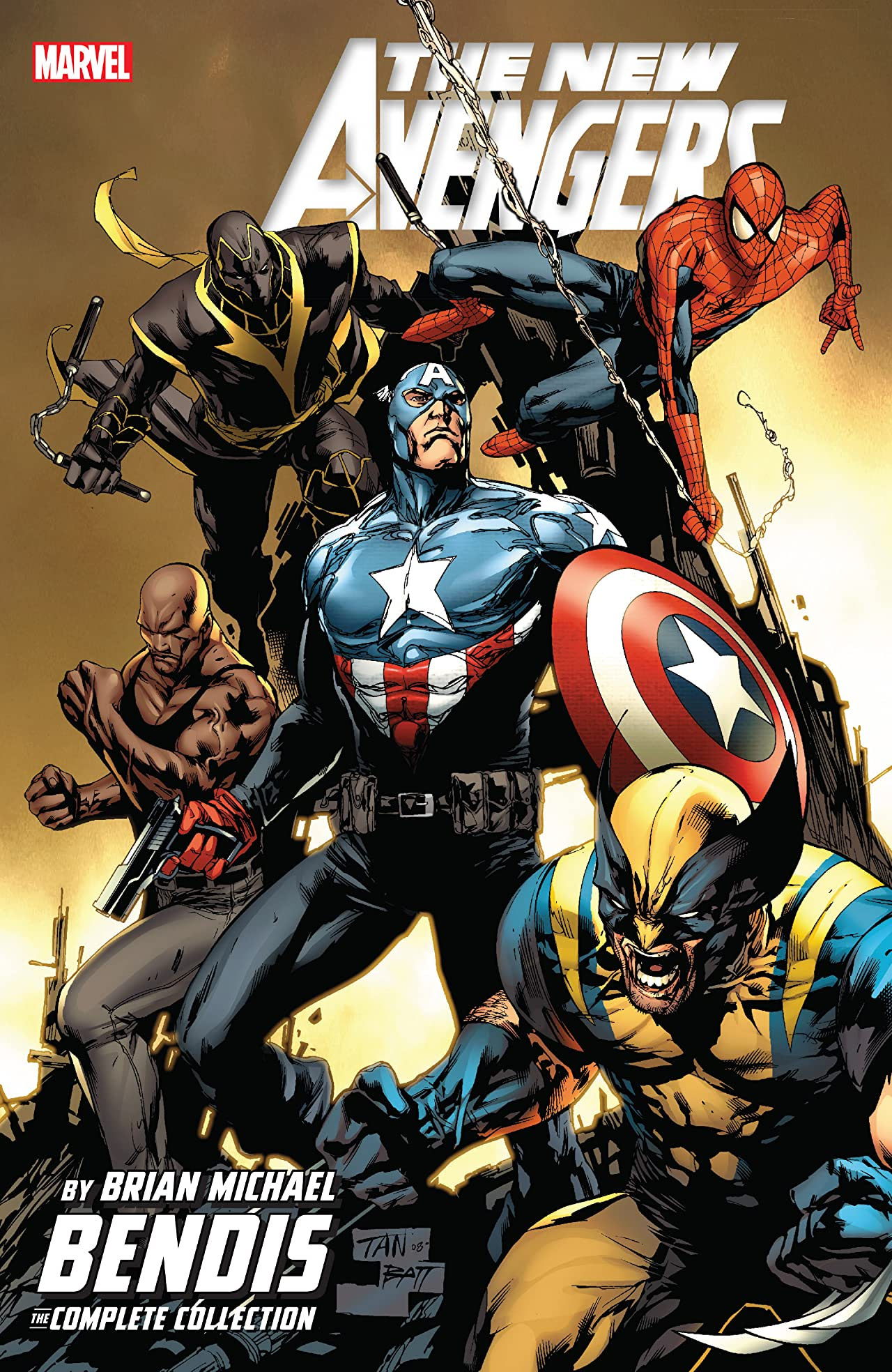New Avengers by Brian Michael Bendis: The Complete Collection Tome 4