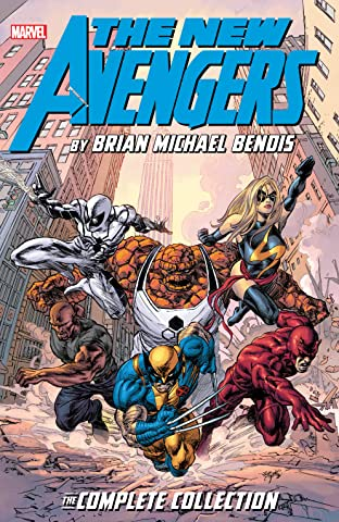 New Avengers by Brian Michael Bendis: The Complete Collection Tome 7