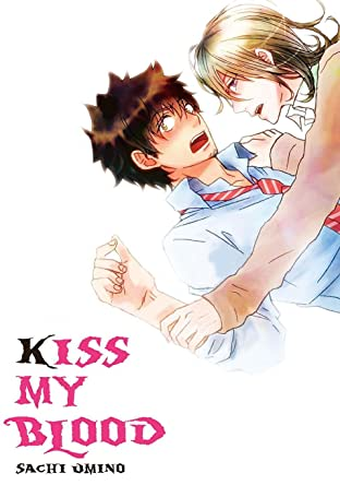 Kiss My Blood (Yaoi Manga) Vol. 1