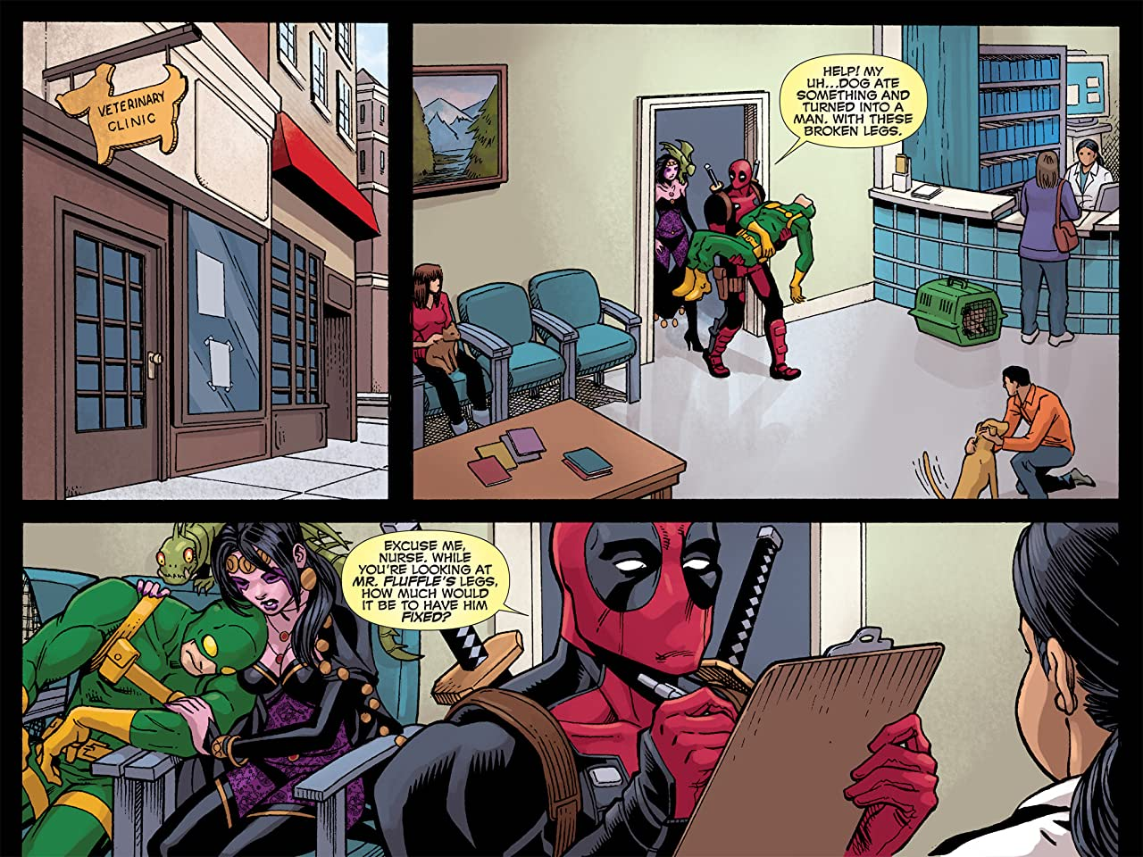 Deadpool: The Gauntlet Infinite Comic #8