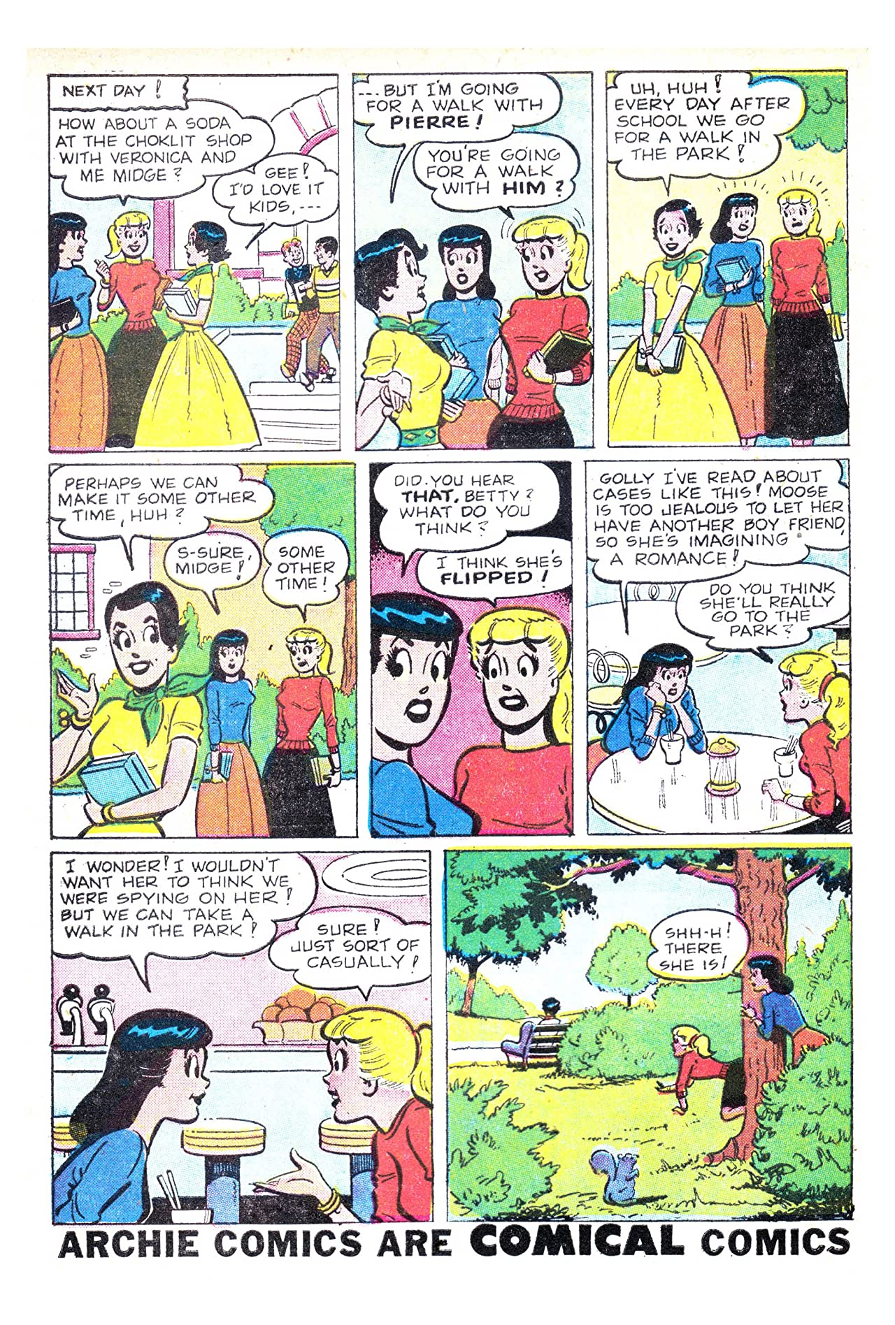 Archie's Girls Betty & Veronica #28