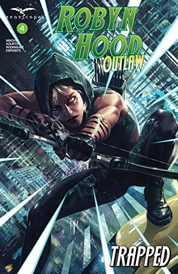 Robyn Hood: Outlaw #4: Trapped